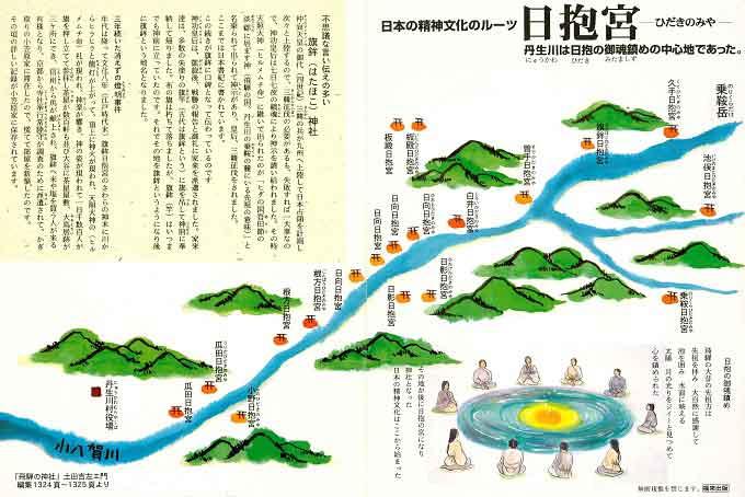 日本人の精神的ルーツとして残る日抱きの宮
