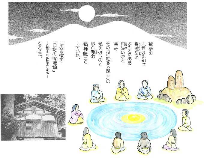 日本の精神文化のルーツは日抱御霊鎮