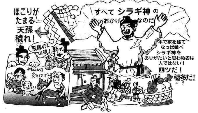 シラギ神崇拝教の教義