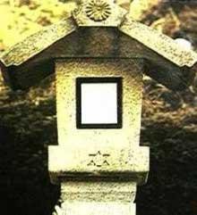 伊勢神宮石灯籠にユダヤ紋章