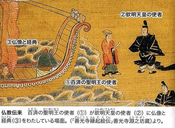 仏教伝来でシラギ教衰退