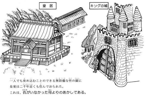 皇居とキングの城の違い